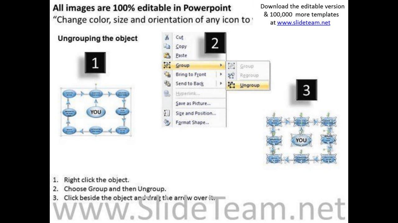 Editable Ppt Slides Rectangular Process Flow Diagram Powerpoint Template Templates