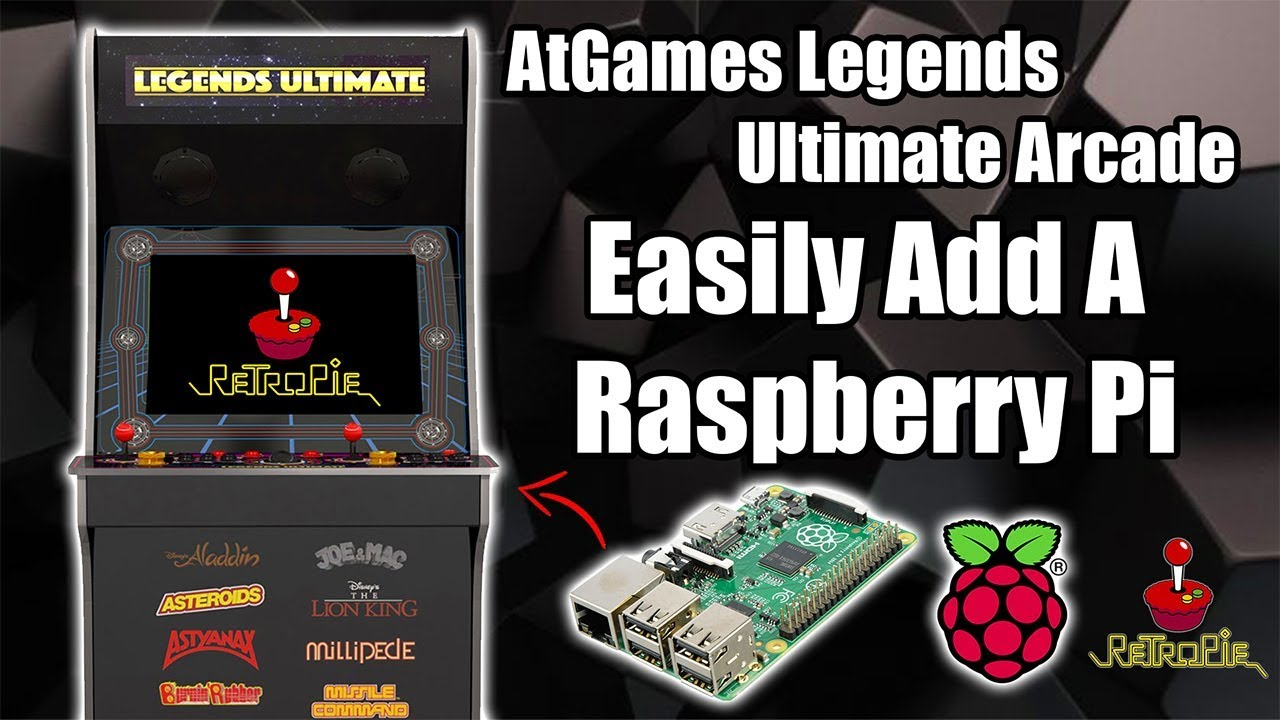 Easily Add A Raspberry Pi To The AtGames Legends Ultimate