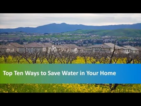 Top 10 Ways to Save Water in Your Home