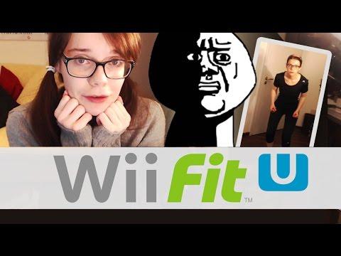 Ich spiele Wii Fit U mit WEBCAM! ヾ(。ꏿ﹏ꏿ)ノ゙