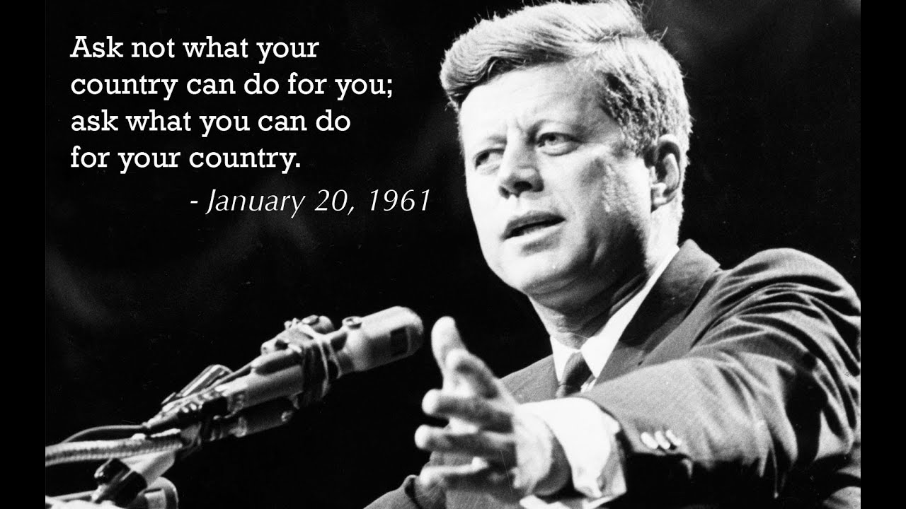 do kennedy john f kennedy ask what you can do for your country the best speech john f kennedy ask what you can do for your country the best speech