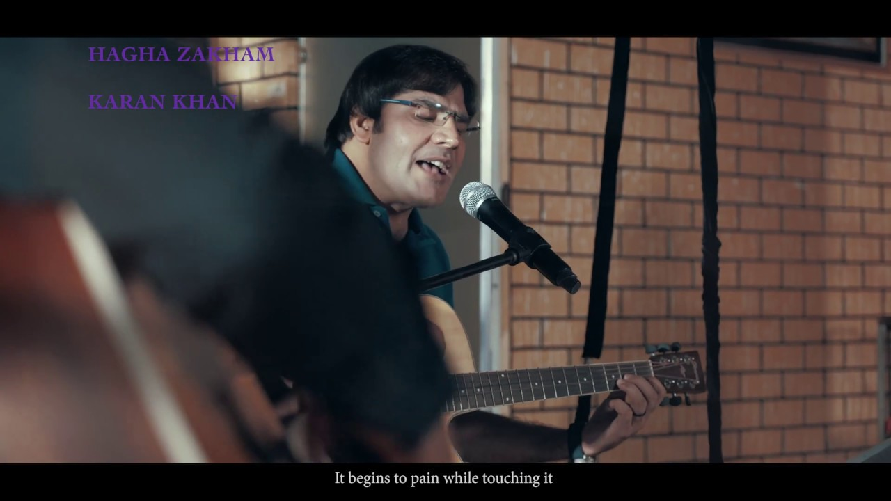 Karan Khan - Hagha Zakham (Official) - Badraga Video