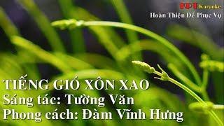 Tiếng Gió Xôn Xao Karaoke Beat HD Chuẩn - Đàm Vĩnh Hưng - [KPT Karaoke 1]