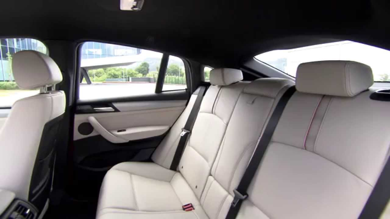 Bmw x4 xdrive35i design interieur youtube for Design interieur