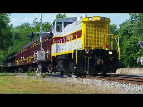 The Union County Industrial Railroad West Milton, New Columbia Pa 6-10-17