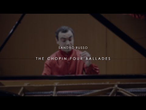 Sandro Russo - The Chopin 4 Ballades