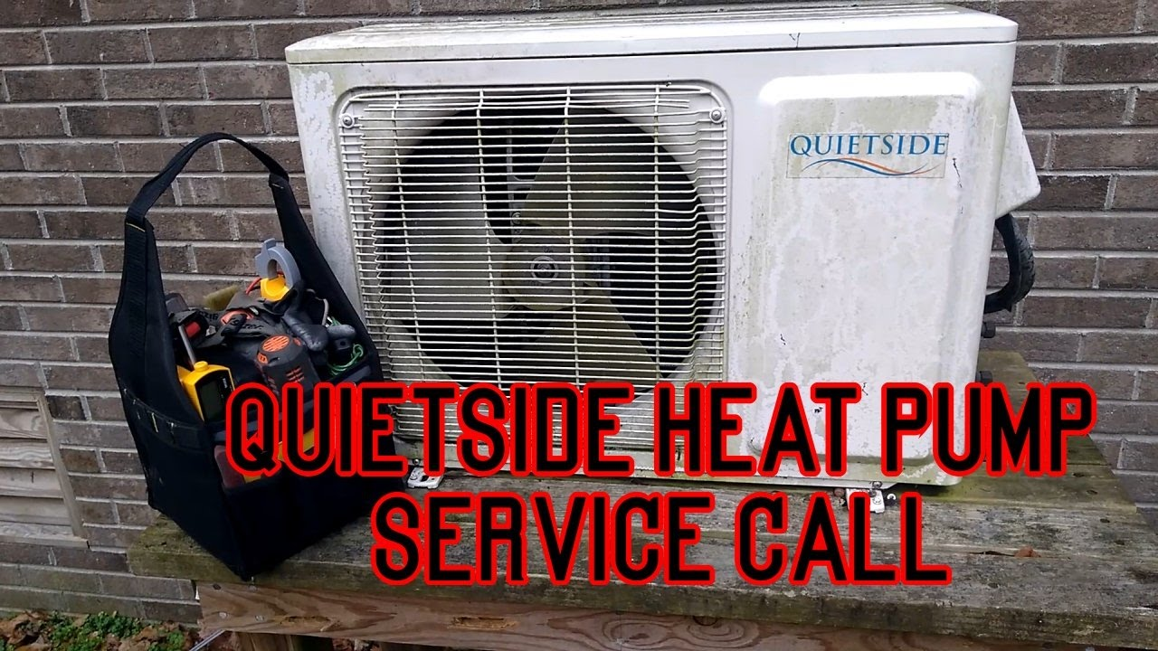 Quietside Heat Pump Refrigerant Leak Repair