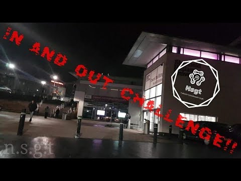 NSGT: IN AND OUT #CHALLANGE.. SHEFFIELD HALLAM UNIVERSITY