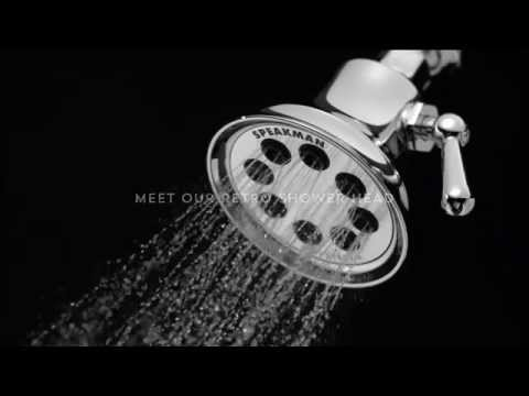 Retro Shower Head S-3015