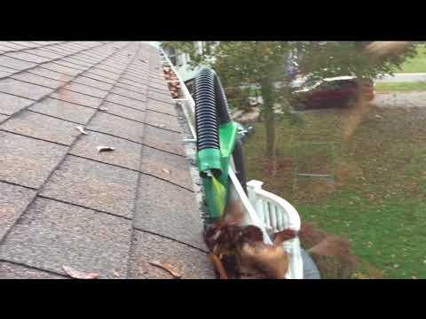 The Gutter Viper:  Clean Gutters, No Ladder