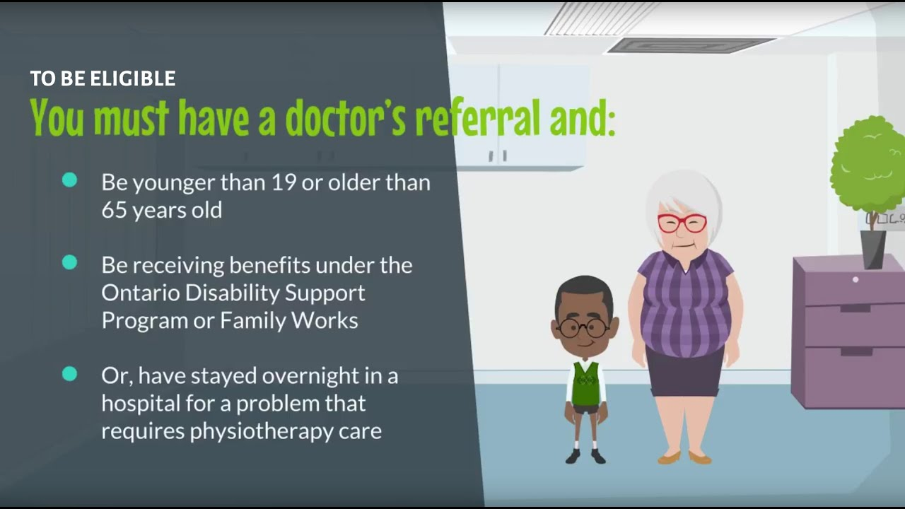 How to Access Government-funded (OHIP) Physiotherapy Clinics
