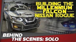 BTS of Solo: Building the Millennium Falcon Nissan Rogue vehicle thumbnail