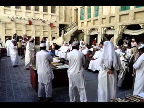 Doha, auction in Souq Waqif