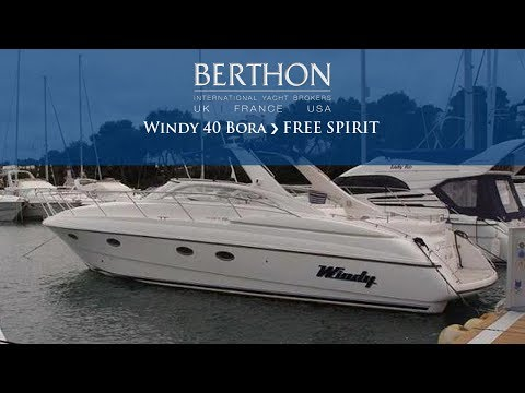 Windy 40 Bora (FREE SPIRIT) - Yacht for Sale - Berthon International Yacht Brokers