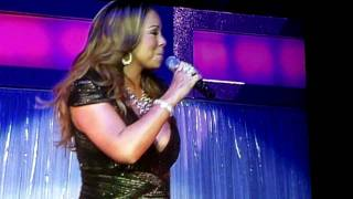 Mariah Carey - Up Out My Face Live 2/26/10 Oakland Ca
