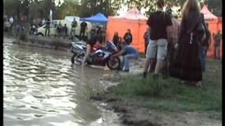 Motopárty Lužany 09 naši sousedé z Polska!