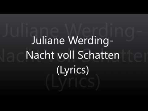 Juliane Werding-Nacht voll Schatten (Lyrics)