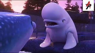 Finding Dory - Destiny and Bailey Jump off the Pool Thumb