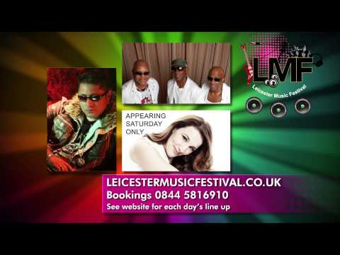 Leicester Music Festival Advert