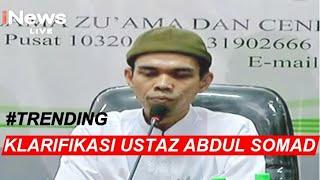 5 Poin Klarifikasi Ustaz Somad soal Video Ceramahnya - iNews Sore 21/08