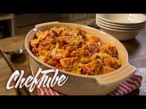 comment-faire-un-gratin-de-pâtes-végétarien---recette-dans-la-description