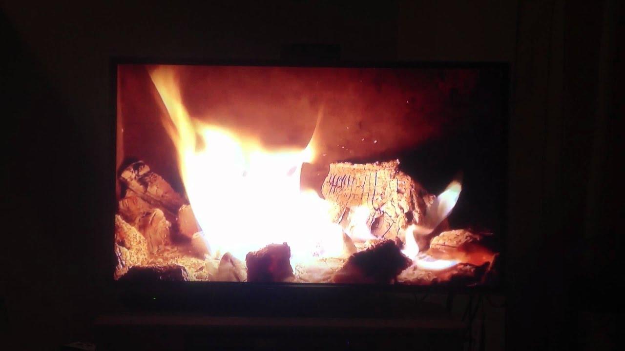 Coal Fireplace Google TV app - YouTube