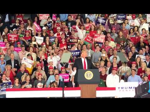 MAGA Rally at Macon GA drawing over 16,000 crowd