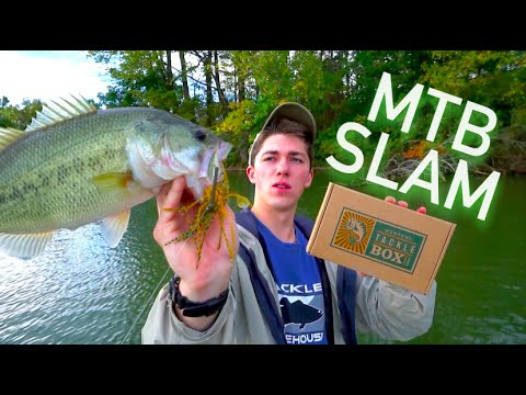 MTB Slam Bass Fishing Challenge -- September 2015 #HookedUpMTBSOTY
