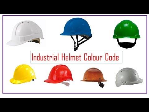 Industrial Helmet standard Color Codes