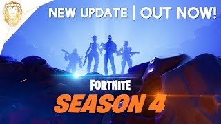 Fortnite | SEASON 4 IS OUT NOW! NEW Hero Skins! NEW Battlepass! NEW Hop Rocks!