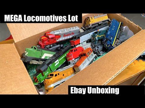 MEGA Lot Of Vintage Ebay Locomotives - Let's See What We Got!