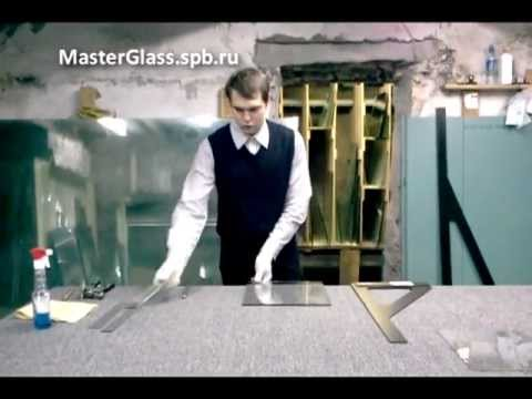 Как ломаются стекла (Резка Стекла от Эдуарда)