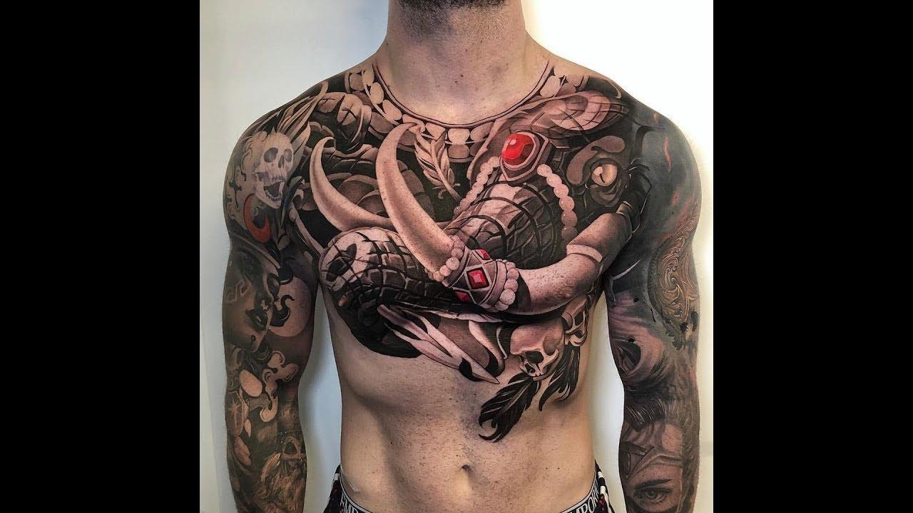 Tổng hợp 1 số hình xăm ở ngực đẹp_Tattoo world | Khái quát những nội dung liên quan đến hình xăm ở ngực đẹp đầy đủ nhất