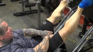 HAMSTRING Leg Press Superset
