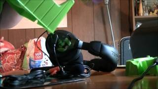 turtle beach ear force x12 xbox pc gaming headset unboxing