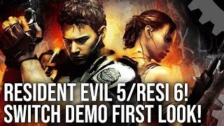 Resident Evil 5 Resi 6 On Nintendo Switch Demo Graphics Comparisons Performance Testing Youtube