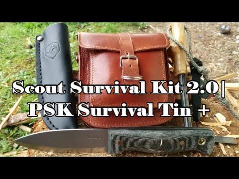 Scout Survival Kit 2.0 | PSK Survival Tin & Gear