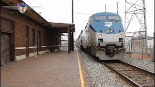 Amtrak City of New Orleans Train #59 (Nice K5LA action!)-Greenwood Mississippi