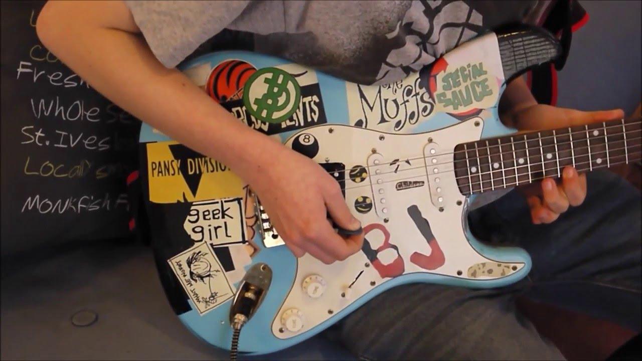 Billie Joe Armstrong Dookie Guitar Making Billie Joe Arms...