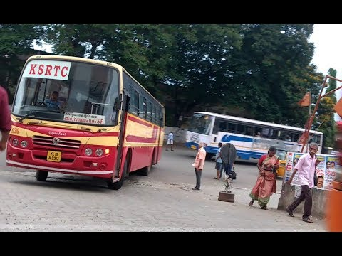 KSRTC Super fast Bad Driver or Skilled Driver ?