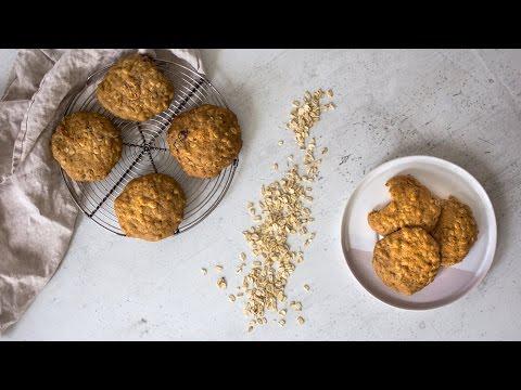 Healthy Oatmeal Cookies Simple Ingredients, Easy to Make
