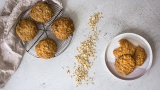 Healthy Oatmeal Cookies - Simple Ingredients, Easy to Make