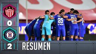 Necaxa 0-2 Cruz Azul | Resumen | Jornada 5 | Guardianes 2021
