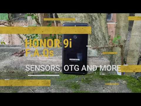 Honor 9i FAQs- Sensors, USB OTG, Notification LED, Fast Charging, SoT and More