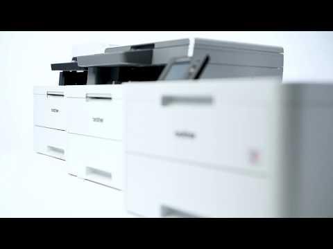 Brother Wireless Colour Laser LED Printer - White   HL-L3210CW