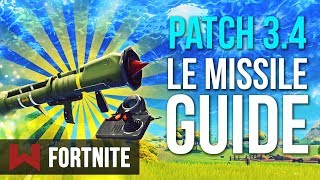Patch 3.4 Summary: The Guided Missile Fortnite Battle Royale