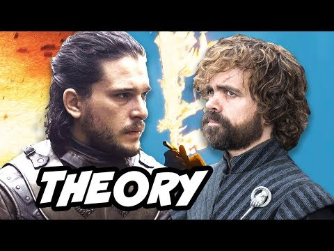 Game Of Thrones Season 8 Jon Snow Tyrion Theory