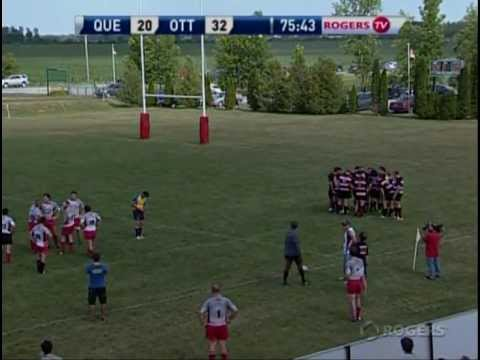 Ottawa Indians RFC vs. Club de rugby de Quebec 2012