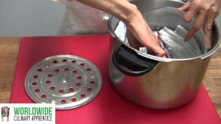 How to make a food steamer