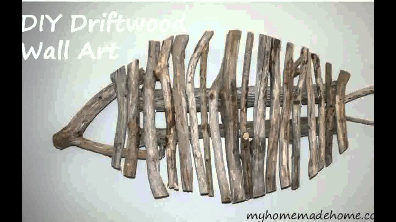 Driftwood Wall Art - YouTube